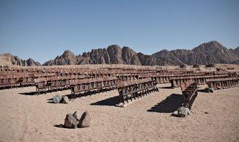 sinai desert cinema outdoor
