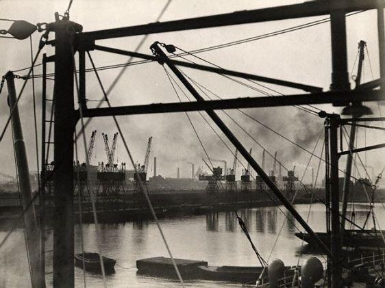 Crane on London Docks, London