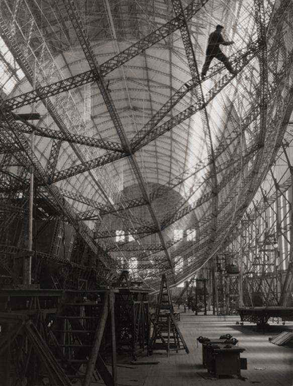 Skeleton Of Graf Zeppelin Friedrichshafen 1928