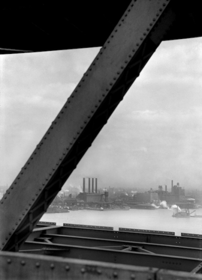 View from the Delaware Bridge, Wilmington, 1926