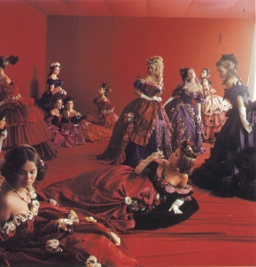 Cecil Beaton's costumes for La Traviata Metropolitan Opera House, 1966