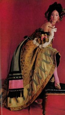 Cecil Beaton - Marina Berenson for Vogue september 1966
